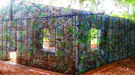 Plastic Bottle Village